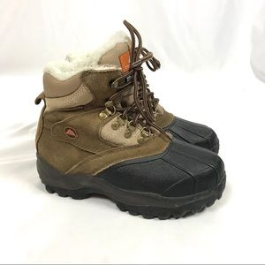Ozark trail snow boot waterproof insulated leather